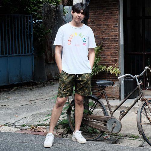 1 กางเกงขาสั้นผู้ชายสีเขียวขี้ม้าresize 15-8-2563