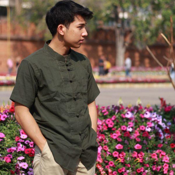 เสื้อคอจีนกระดุมจีน